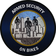 ARMED SECURITY ON BIKES
